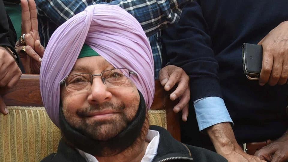 Congress government,Akalis,Parkash Singh Badal