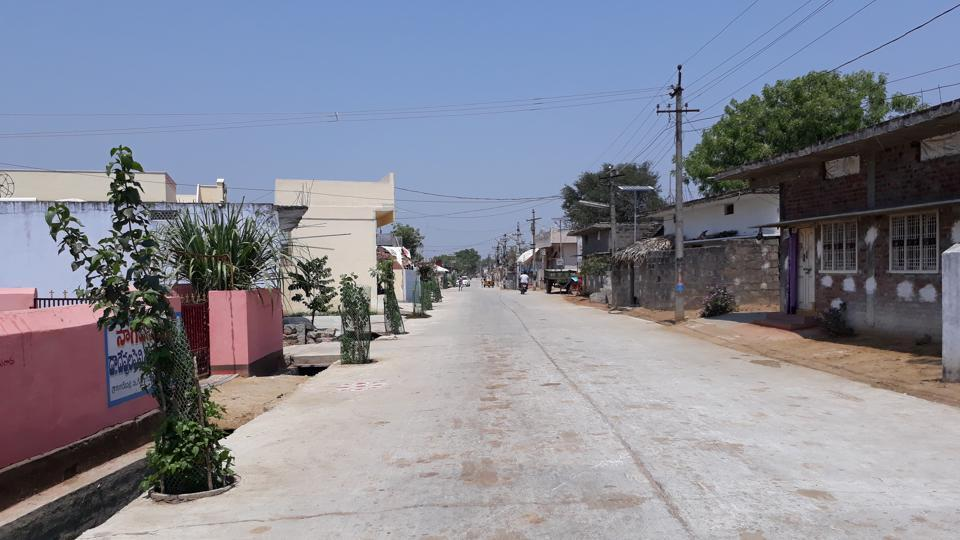 All lanes and bylanes in Gangadevipalli village in Telangana are cement-concrete roads with well-laid sewerage lines.