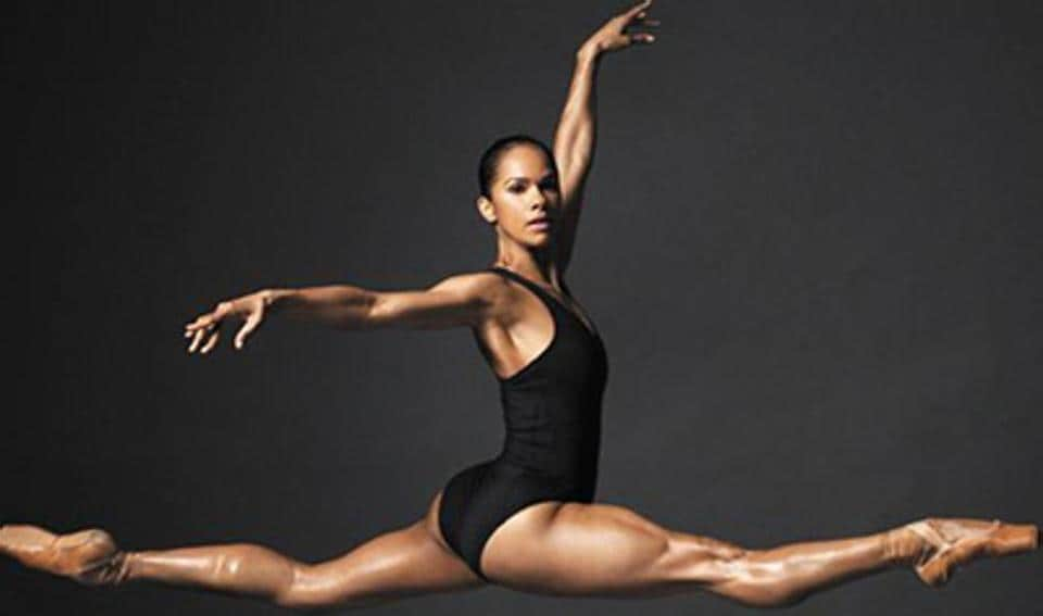 The cover of Ballerina Body: Dancing and Eating Your Way to a Leaner, Stronger, and More Graceful You by Misty Copeland.