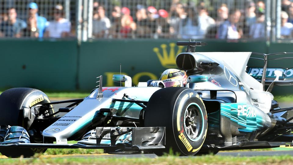 Mercedes' had the fastest car on the grid -- with Lewis Hamilton smashing lap records at will. But it was proven once again that sound strategies can make a huge difference on race day.  (AFP)
