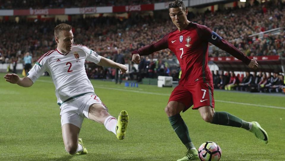 Cristiano Ronaldo,Hungary,FIFAWorld Cup