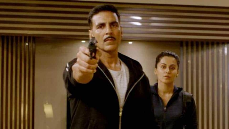 As a promotional step for Naam Shabana, Akshay and Taapsee had also posted on social media a video teaching self-defence techniques to girls.