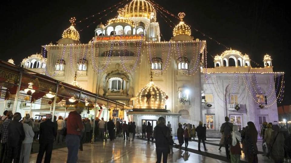 Bangla Sahib, New Delhi.