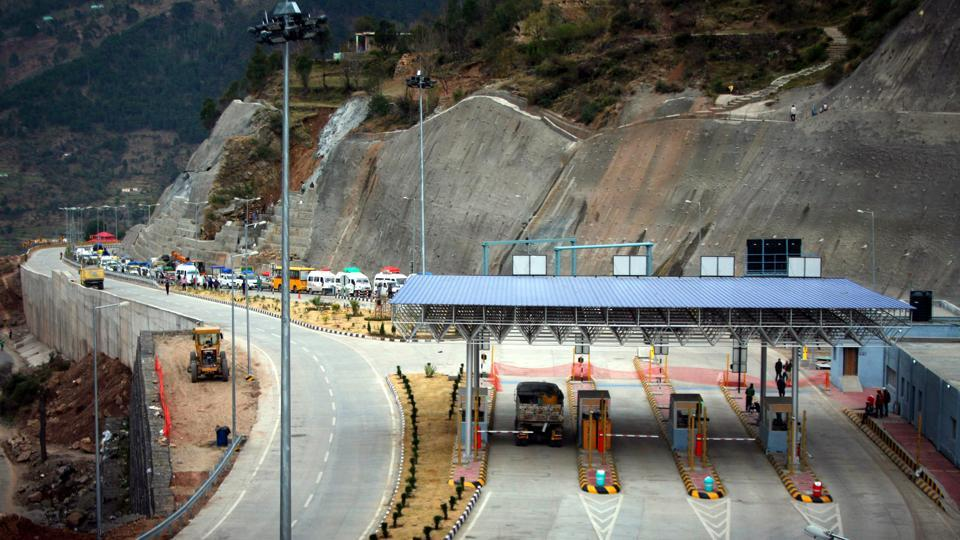 Located at an altitude of 1200 metres above sea level, the tunnel recently saw sucessful formal trial runs. (Ht Photo)