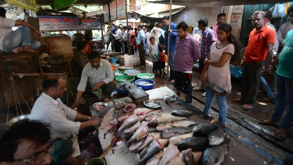 Sale of fish has gone up after meat sellers went on strike.