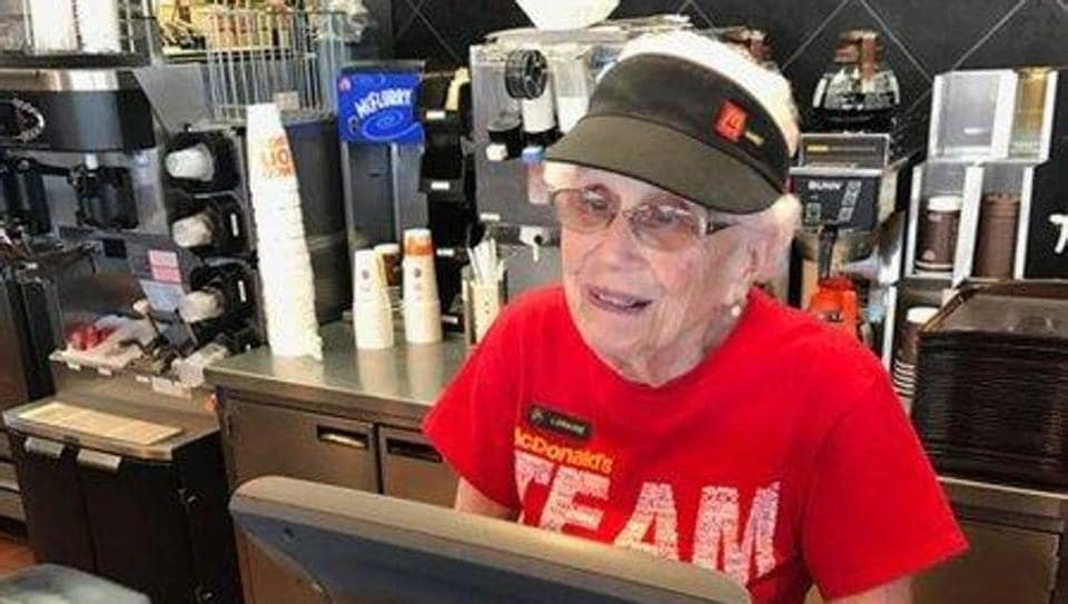 Loraine Maurer has been working at a McDonalds outlet in Evansville, Indiana for over four decades.