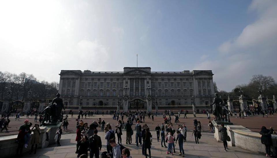 Buckingham Palace is also part of the advertisement that seeks a furnishings manager.