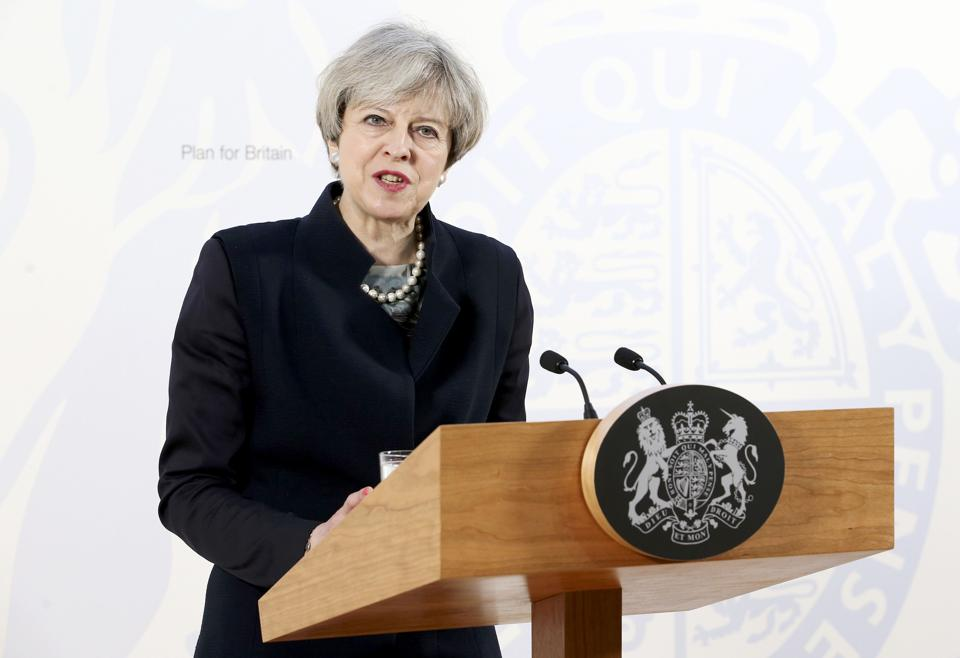According to May, Brexit is an opportunity to strengthen the union of England, Scotland, Wales and Northern Ireland in the UK.