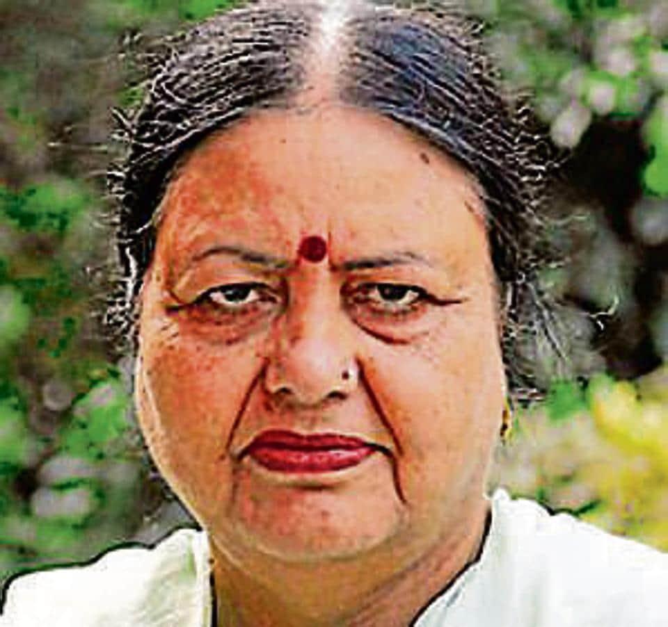 Chandigarh mayor Asha Jaswal