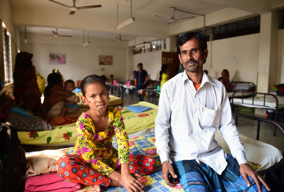 Sahana Khatun's father Mohammad Shahjahan stopped her treatment, fearing she may never be cured.