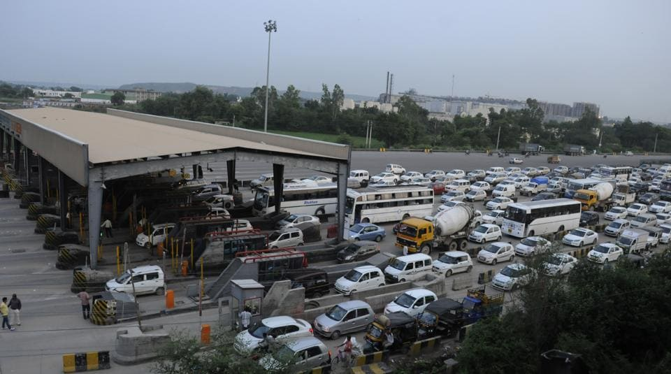 Manesar industries have been demanding the removal of the toll plaza for long.