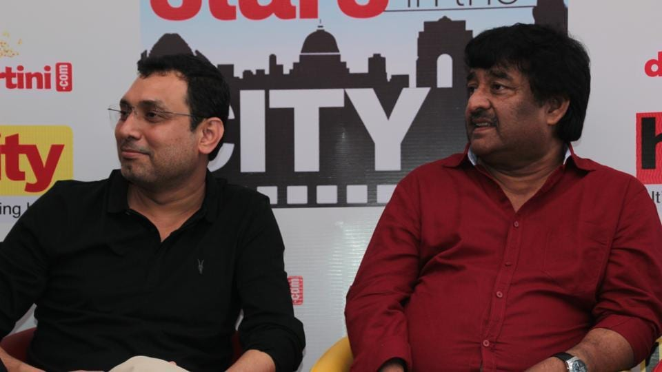 The film's makers, Neeraj Pandey and Shivam Nair, shared how it was a breeze to work with the disciplined and dedicated cast of the film.  (SHIVAM SAXENA/HT PHOTO)