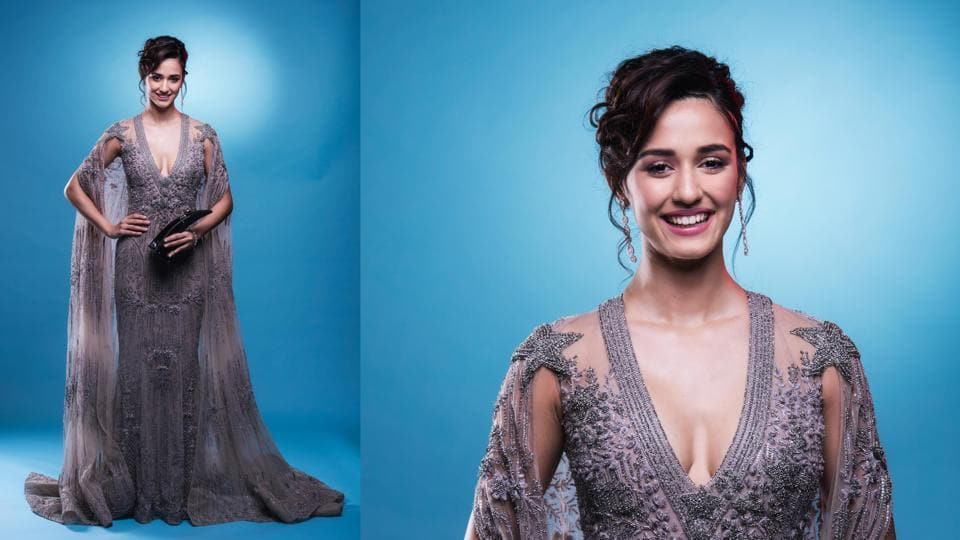 Disha Patani's ethereal looks at the Hindustan Times Most Stylish Awards 2017 garnered attention. She took home the trophy for the Most Stylish Fresh Face - Female. (Aalok Soni/HT Photo )