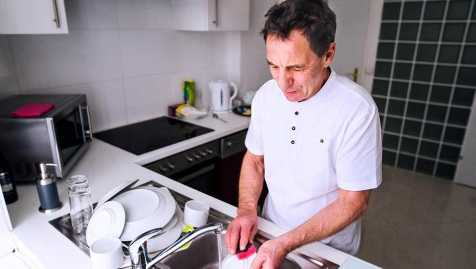 Encourage older people to do household chores to let them stay fit.