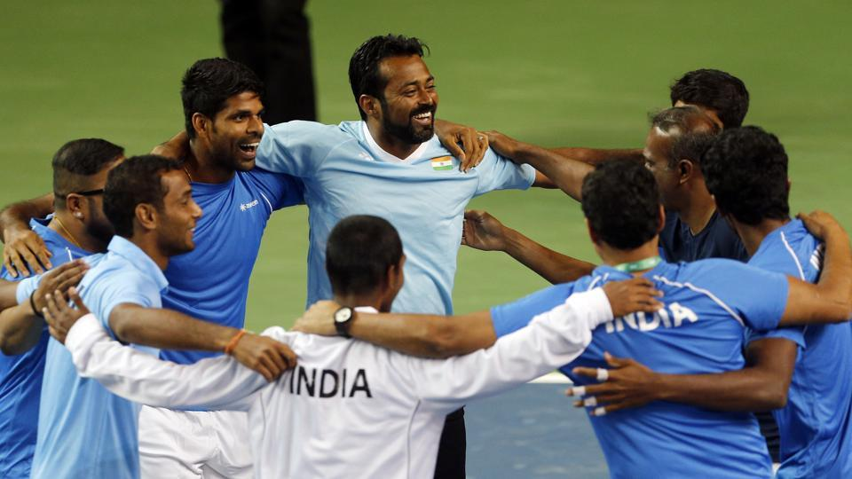 India had beaten New Zealand 4-1 in their Davis Cup Asia/Oceania Group I tie in Pune in February.
