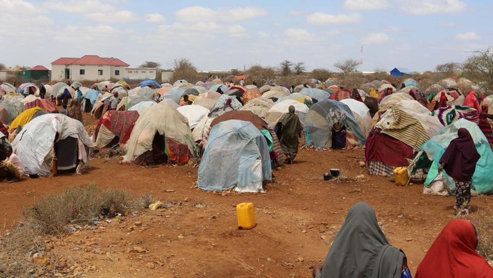 The cholera epidemic is most prevalent among women and children. Cholera outbreaks often occur in refugee camps due to overcrowding and poor sanitation. (Feisal Omar/REUTERS)