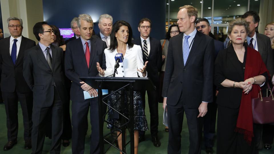 Non-Proliferation Treaty,UN,US