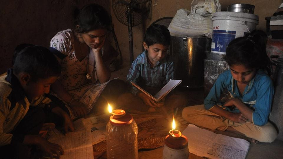 With no electricity, residents are left in the lurch.