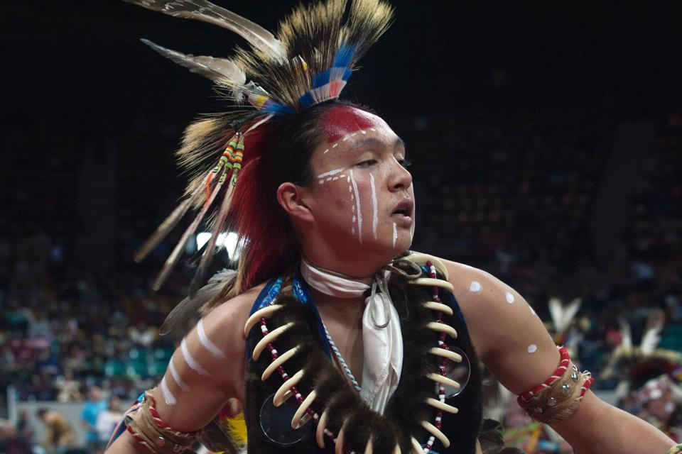 Since 2009 roughly 95 nations, 35 US states, and five Canadian provinces have been represented during the powwow. (Jason Connolly / AFP)
