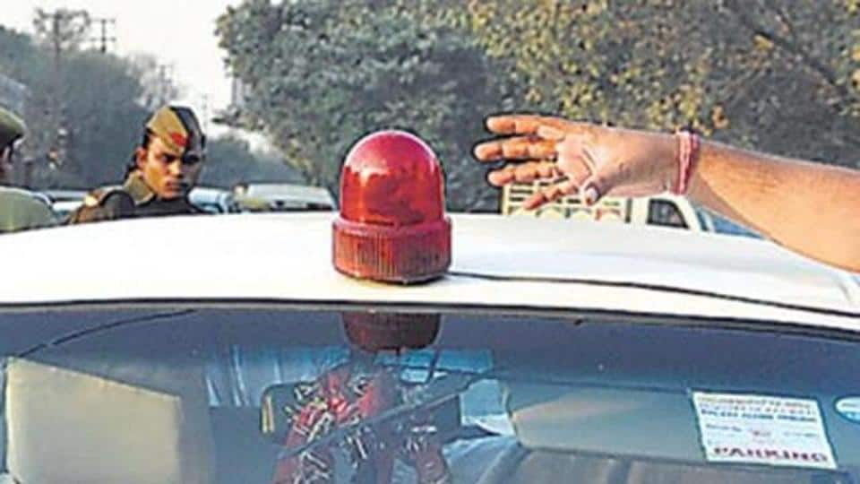 Noida,VIP culture,red beacons