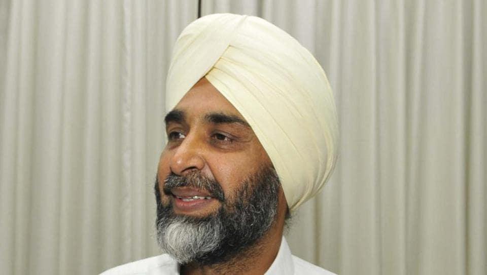 Punjab finance minister Manpreet Badal