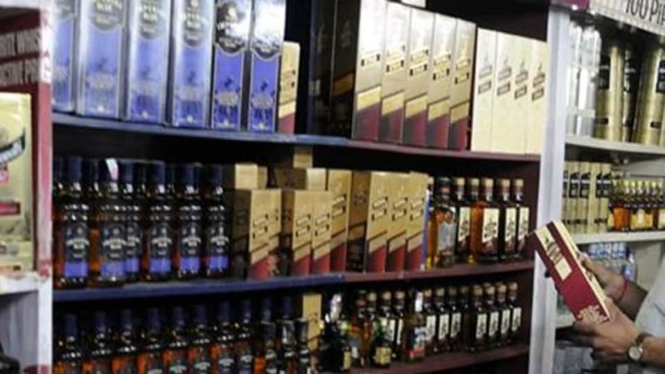 Heavy rush was witnessed especially at liquor vends in Sectors 44, 35 and 46 of Chandigarh.