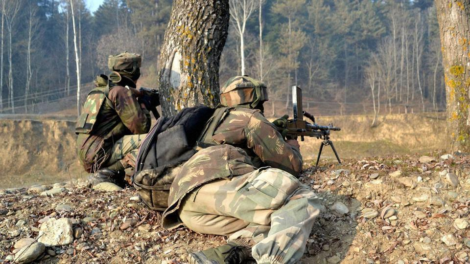 Militants attacked the house of two policemen, who are brothers, in Shopian on March 27.