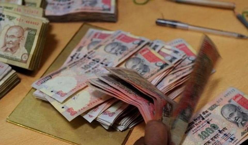 Anil Jain had collected the banned notes in denomination of Rs1,000 and Rs500 from various businessmen after promising them to get the notes exchanged with valid banknotes on 50% commission basis.