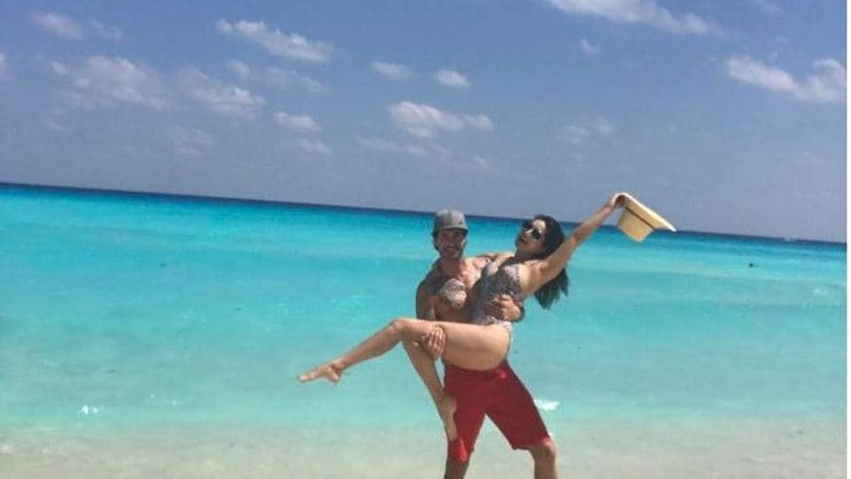 Actor Sunny Leone has been enjoying some time off with her husband Daniel Weber in the US.