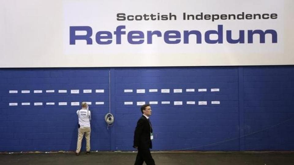 The British government said on Tuesday it would not be entering into negotiations on the Scottish government's proposal to hold a new independence referendum in late 2018 or early 2019.