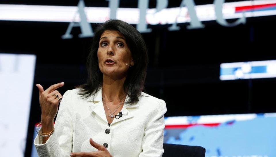 Nikki Haley,United Nations,US Envoy