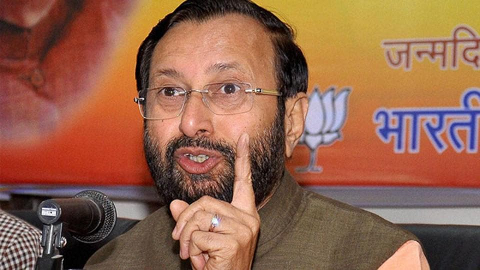 Prakash Javadekar,Centre of Excellence,HRD