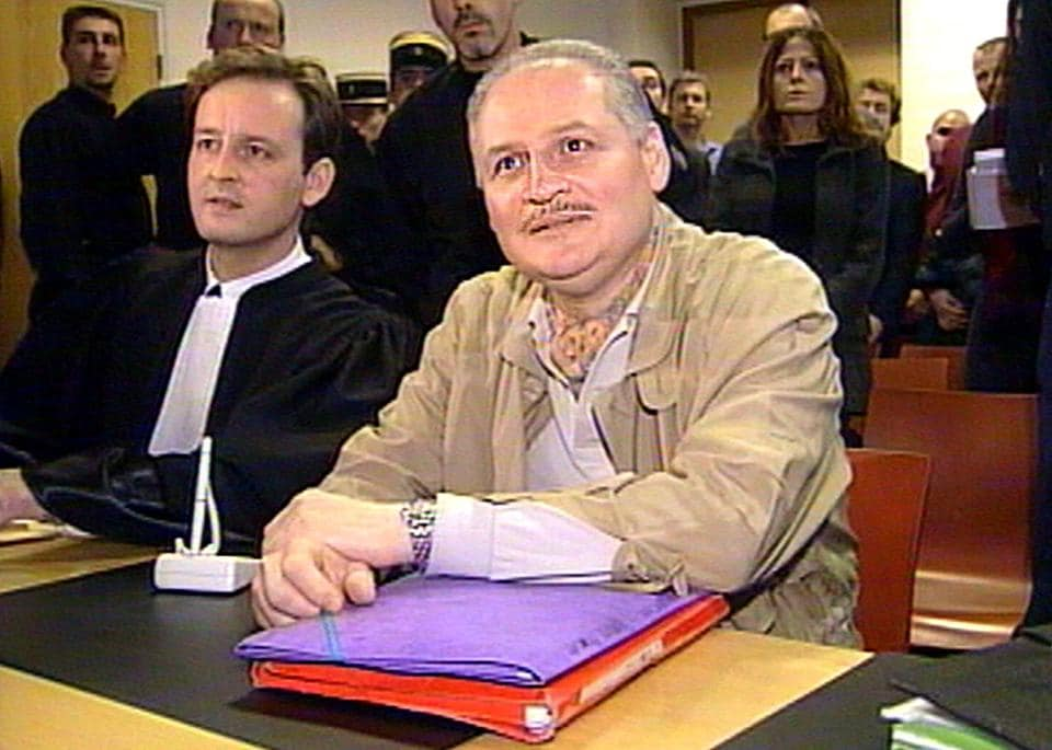 Carlos the Jackal (right) has claimed personal responsibility for 80 deaths but repeatedly denied responsibility for the Paris attack on the Drugstore Publicis store in the upmarket Left Bank district of Saint-Germain for which he was convicted.