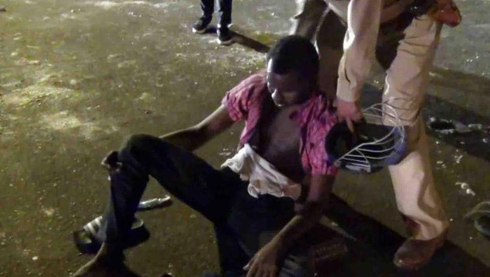 Nigerians attacked,Greater Noida,Africans in India