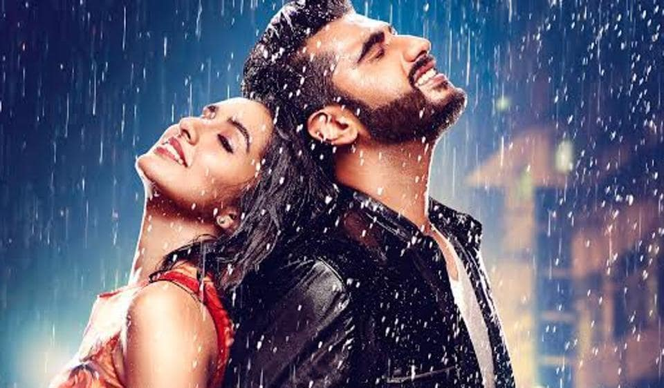 Shraddha Kapoor and Arjun Kapoor on the poster of Half Girlfriend.