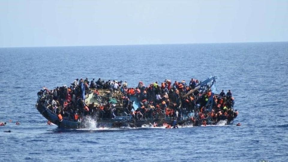 About 146 migrants are feared missing after their boat capsized after leaving Libya, according to a Gambian man who was rescued following the disaster.