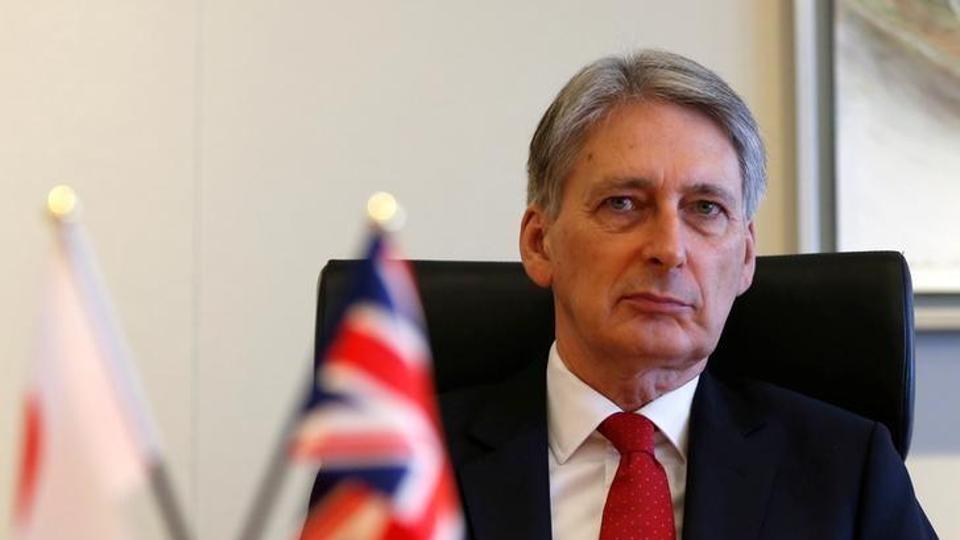 Finance minister Philip Hammond.