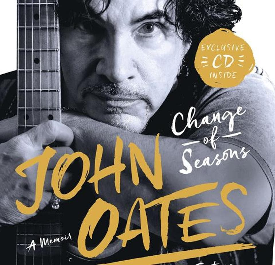 The cover of Change of Seasons: A Memoir by John Oates.