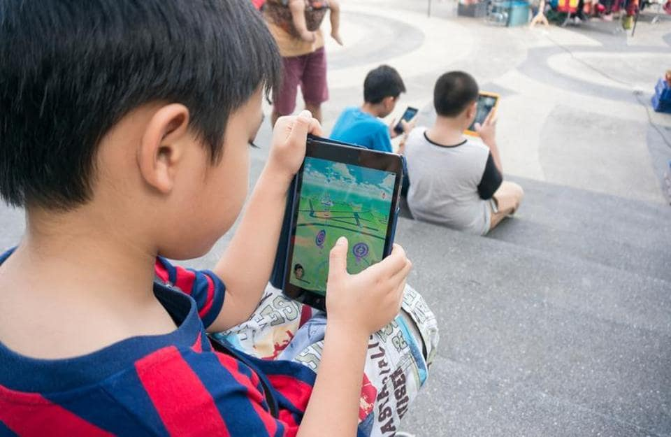 Parents say they talk to their kids more than usual when they play Pokemon GO with them, both about the game and other things in their lives.