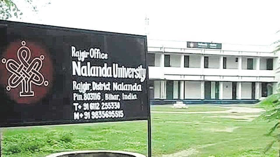 A student of Nalanda University (NU), accused in a sexual harassment case, was suspended on Wednesday.