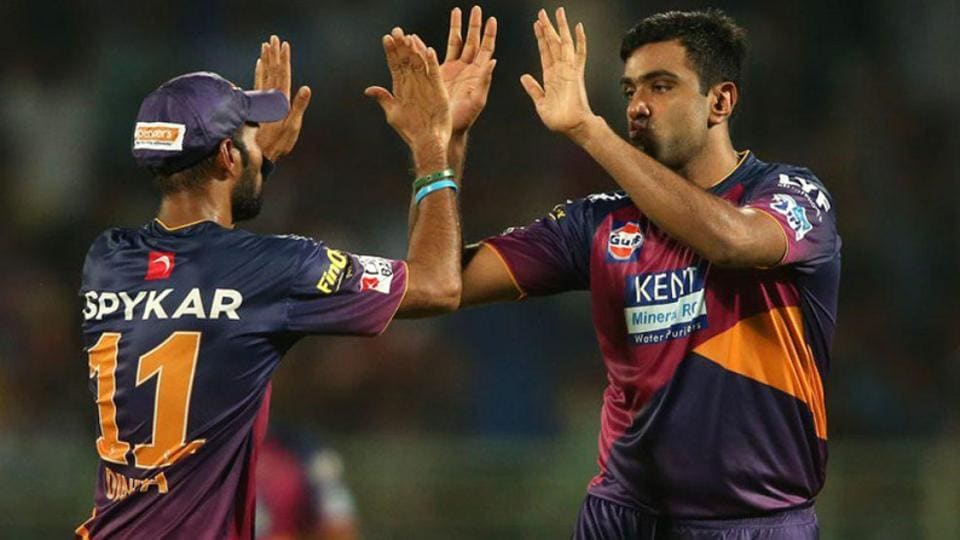 Ravichandran Ashwin (Rising Pune Supergiant) is the second-most economical bowler (6.55) in the IPL.  (IPL)