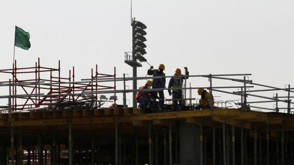 Qatar has refused to allow scores of migrants from countries including India, Nepal and Bangladesh to return home, violating new labour reforms to improve workers' rights.