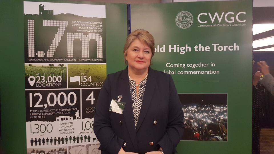 CWGC's director-general Victoria Wallace said the Basra Memorial commemorates around 40,000 servicemen who died in Iraq during the First World War and have no known grave. Over 36,000 served with the Indian Army.