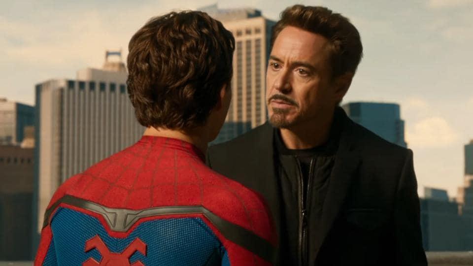Half Spider Half Man Spider-Man Homecoming ...