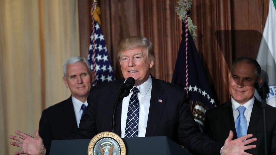 Donald Trump,Barack Obama,Climate change