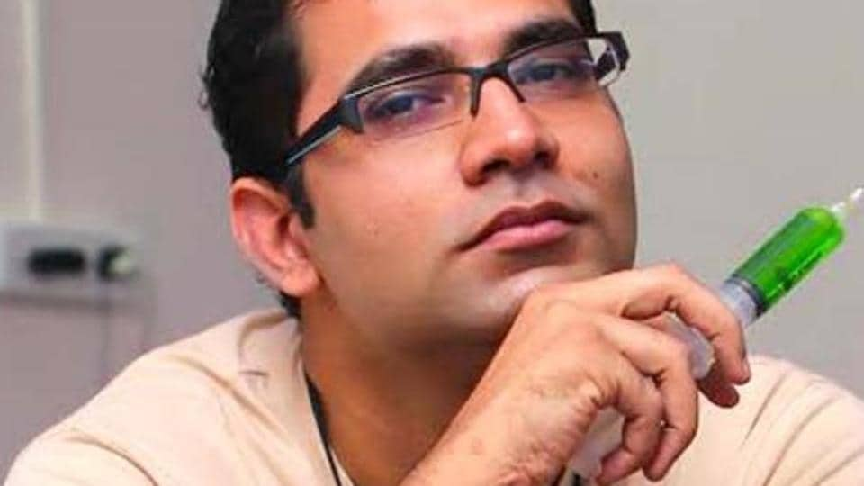 Arunabh Kumar, CEO of The Viral Fever, a digital entertainment start-up company based in Mumbai.