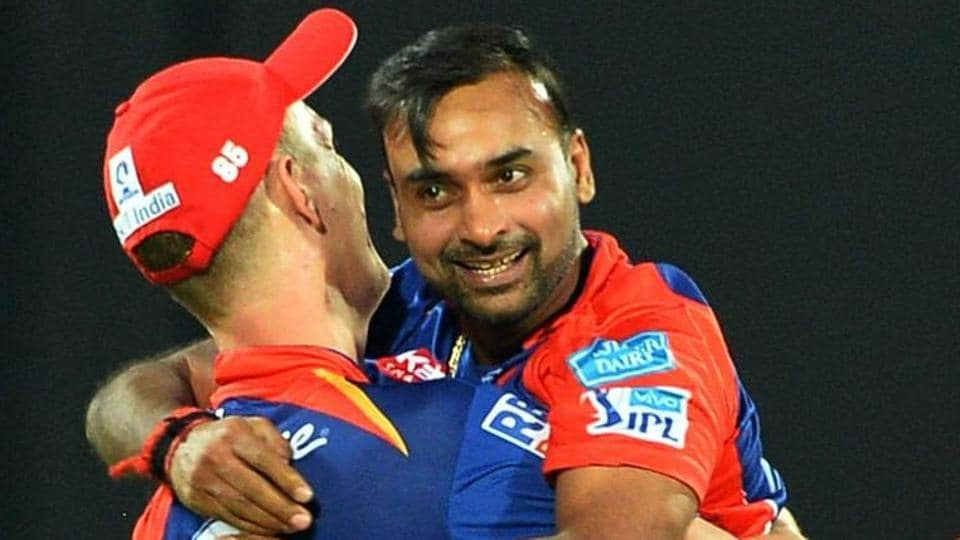 Amit Mishra (Delhi Daredevils) was the first player to take three hat-tricks in IPL, and he is the second highest wicket-taker in the T20 tournament with 124 wickets in 112 matches.  (AFP)