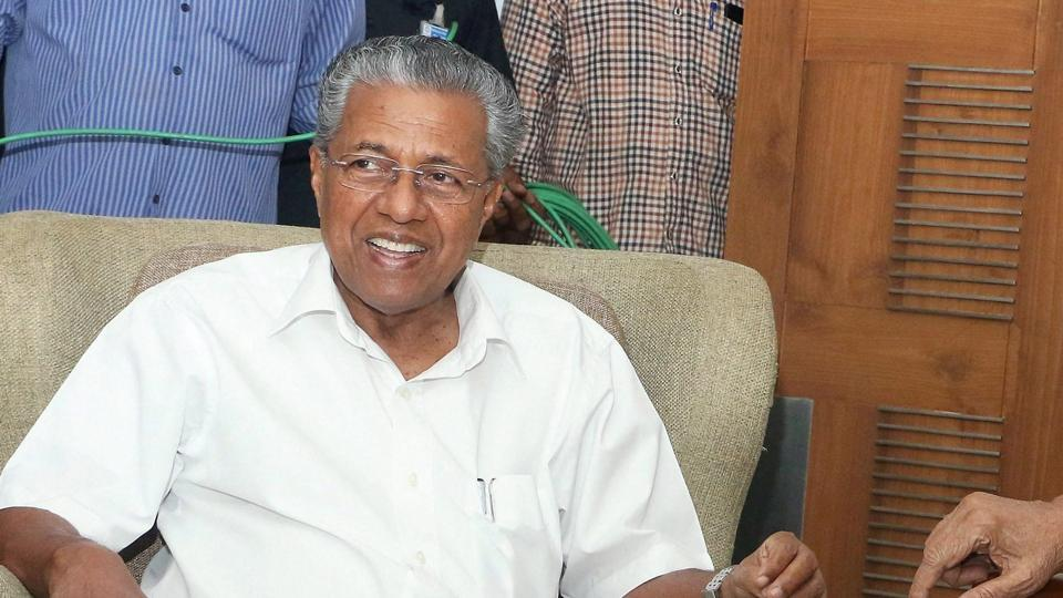 Kerala CM Pinarayi Vijayan. In a video that went viral on social media early this month, Chandrawat was purportedly seen announcing a bounty of Rs 1 crore for beheading Vijayan.