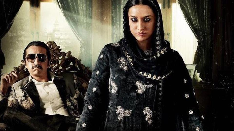 Siblings Shraddha and Siddhant Kapoor in a still from their upcoming film, Haseena.