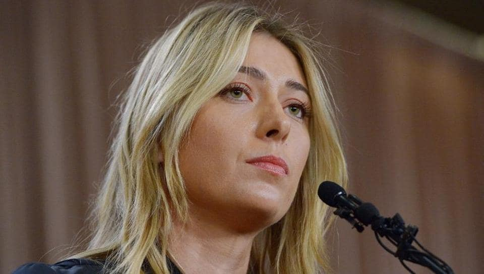 Maria Sharapova speaks to the media announcing a failed drug test after the Australian Open during a press conference on March 7, 2016.